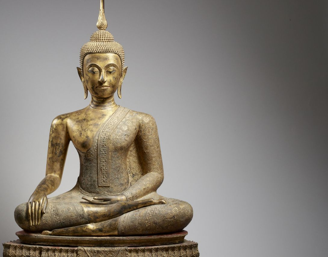 Guimet Buddha legende doree