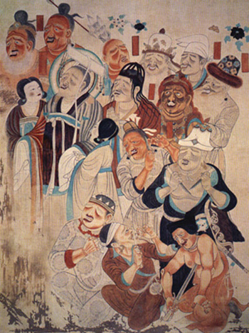Grottes Mogao Dunhuang 03