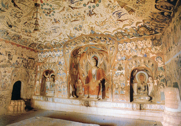 Grottes Mogao Dunhuang 10