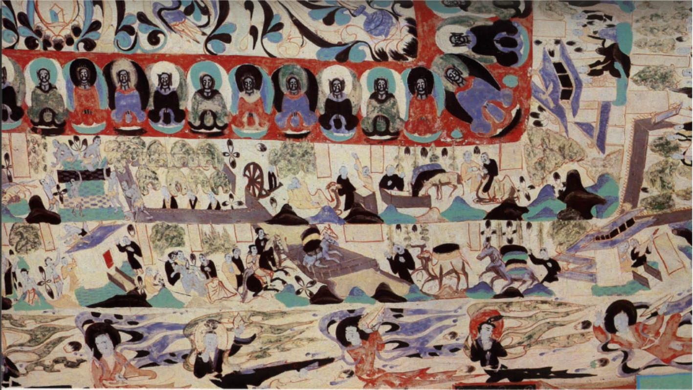 Grottes Mogao Dunhuang 15