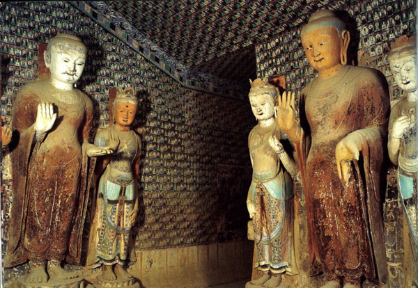 Grottes Mogao Dunhuang 16