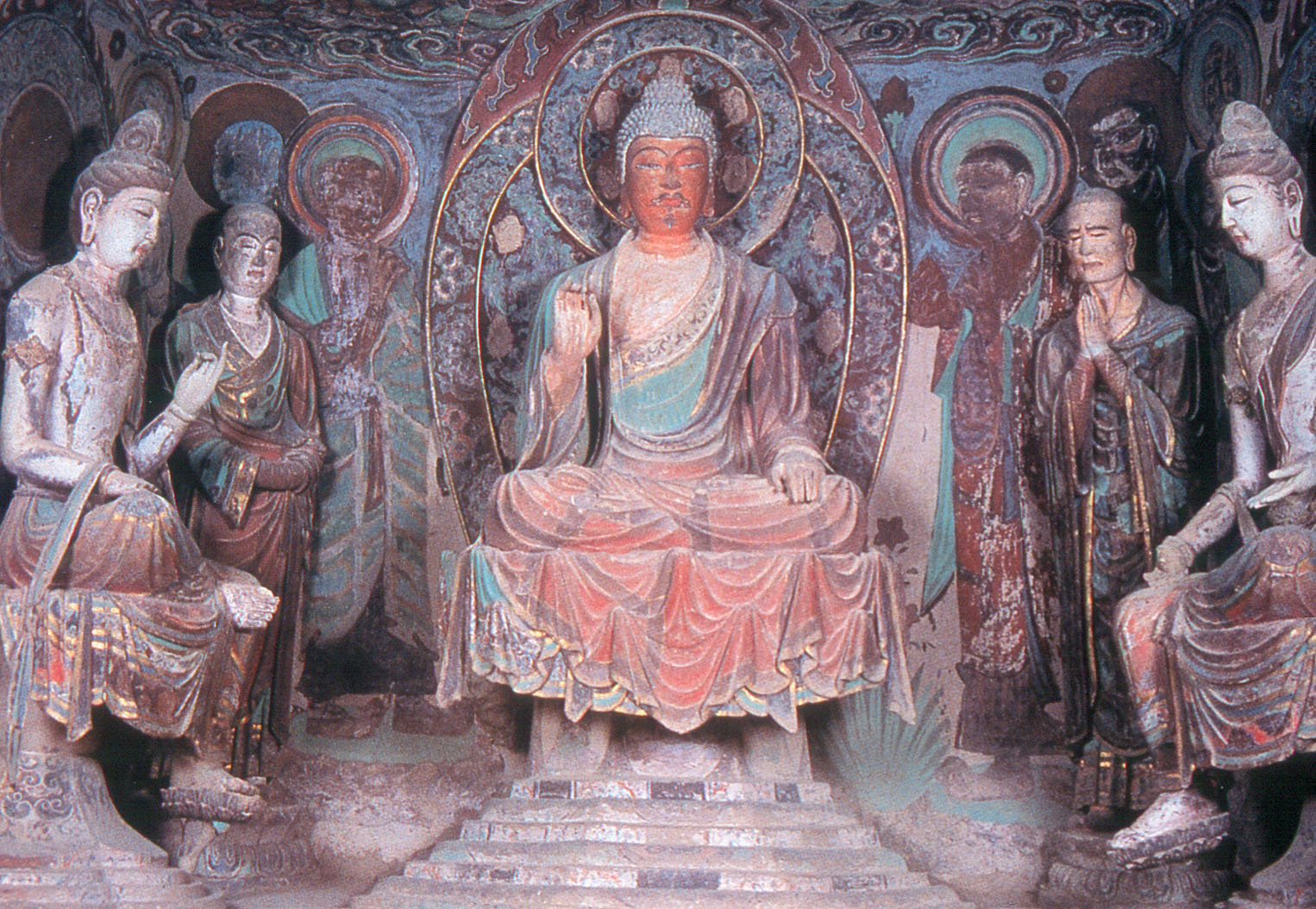 Grottes Mogao Dunhuang 18
