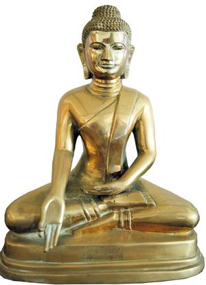 bouddha maigre